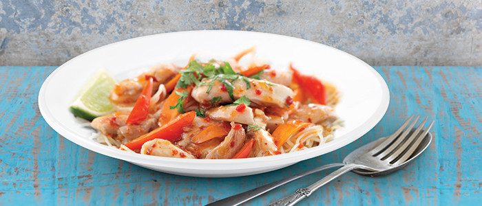 Spicy Thai Sweet Chilli and Lime Chicken