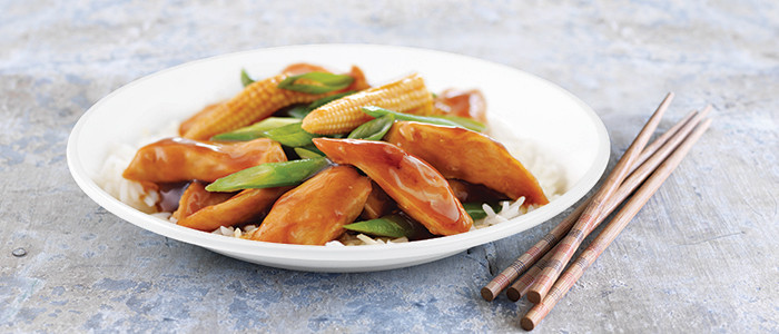 Stir Fry Honey Soy Chicken and Vegetables
