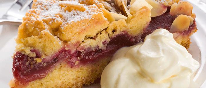 Summer Plum Shortcake