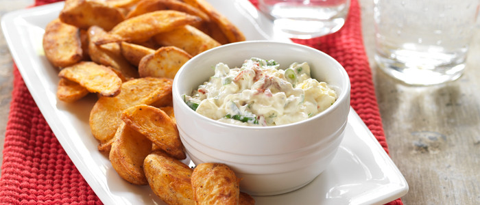 Sundried Tomato and Feta Dip with Chilli and Lime Wedges