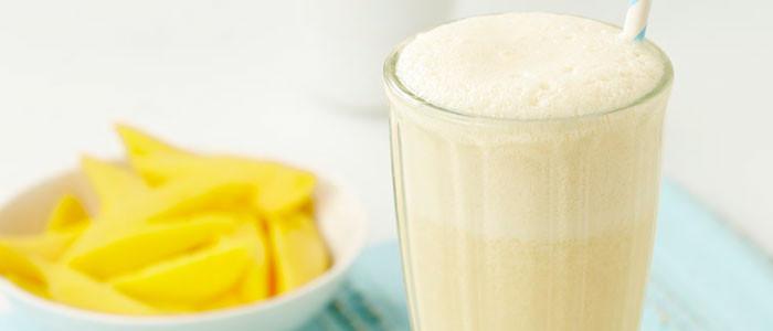 Tangy Mango Milkshake