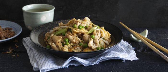 Teriyaki Chicken Fried Rice