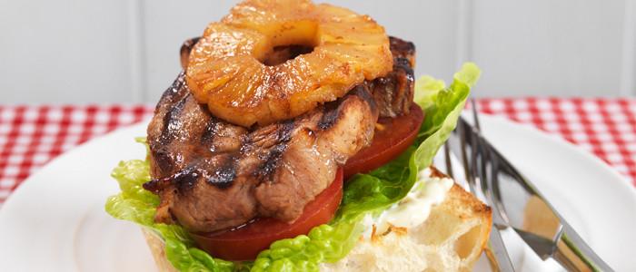 Ultimate Pork Steak Burger