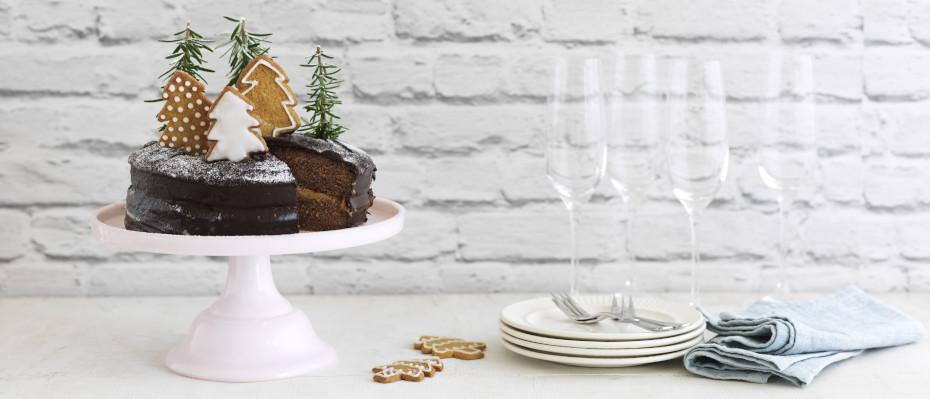 Xmas Chocolate Ginger Cake