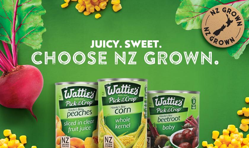 Juicy, Sweet, Choose NZ Grown