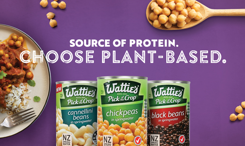 Source of Protein - Choose Plant-Based