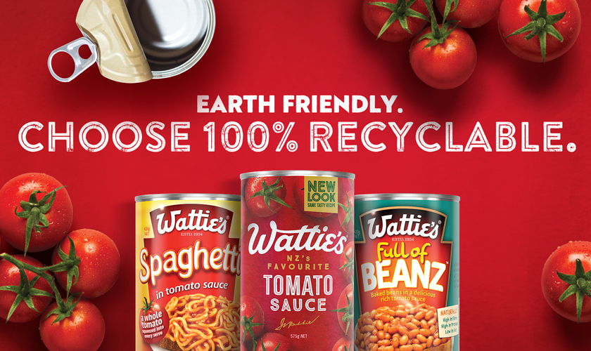 Earth Friendly. Choose 100% Recyclable