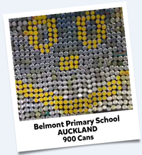 Belmont Primary School Cans For Good 2016 Winning Entry
