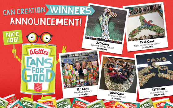 Can Creation Winners Announcement!