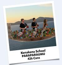KenaKena School Cans For Good 2016 Winning Entry
