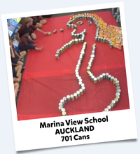 Marina View School Cans For Good 2016 Winning Entry