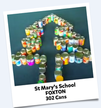 St Mary's School Cans For Good 2016 Winning Entry