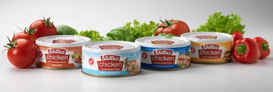 Wattie's Canned Chicken Range