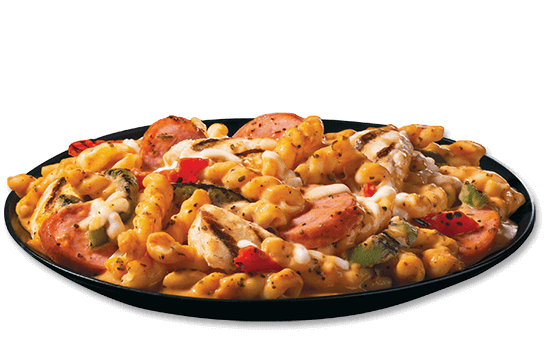 cajun-style-alfredo-with-sausage-and-chicken plate image