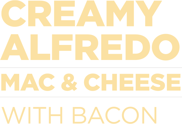Creamy Alfredo Mac and Cheese With bacon