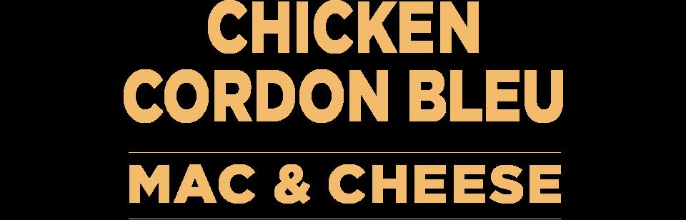 Chicken Cordon Bleu Mac & Cheese