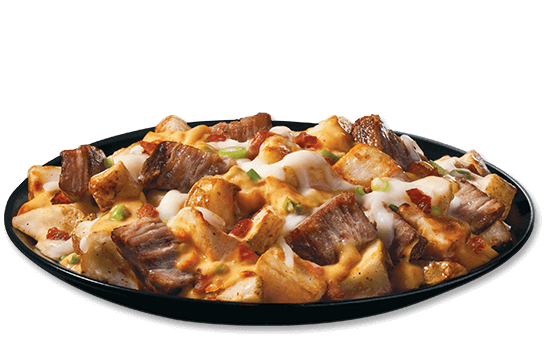 loaded-potatoes-with-angus-beef-bacon plate image