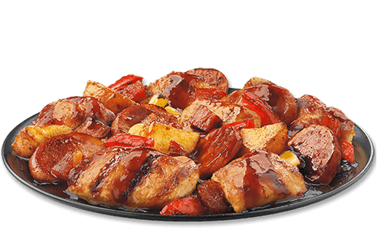 smokehouse-meat-potatoes-with-chicken plate image