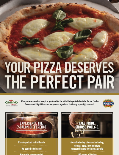 Visit Escalon at Pizza & Pasta Northeast