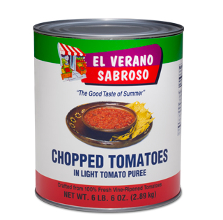 Chopped Tomatoes in Light Purée