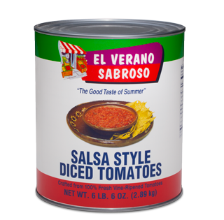 Salsa Style Diced Tomatoes