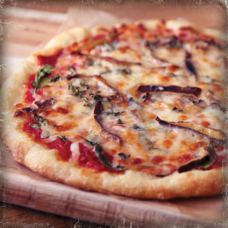 Wild Mushroom Arugula Old World Pizza