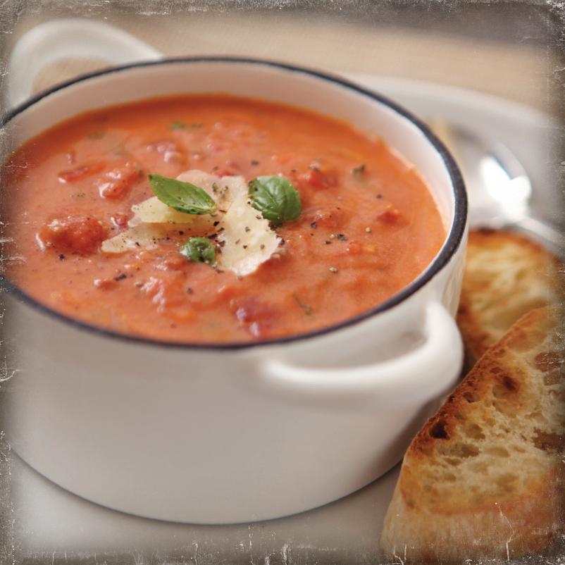 Escalon Vine Ripe Tomato Basil Soup