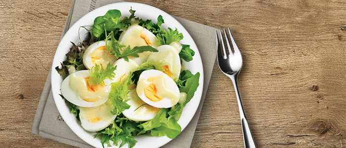 Classic Kiwi Currled Egg Salad