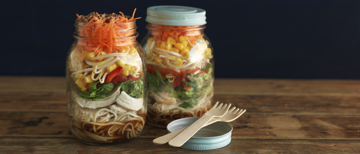 Soy and Citrus Soba Noodle Salad