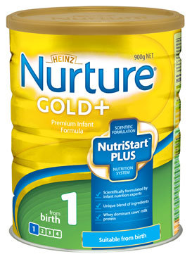 Heinz Nurture® Gold Infant Formula 1