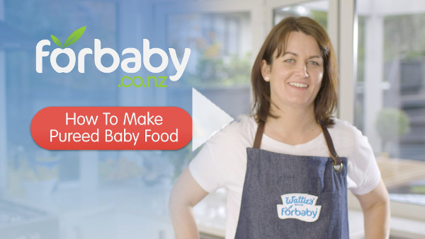 How to Make Pureed Baby Food
