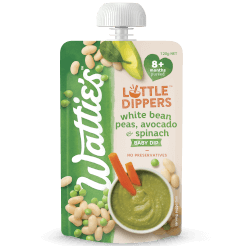 Wattie's Little Dippers White Bean, Peas, Avocado & Spinach Dip