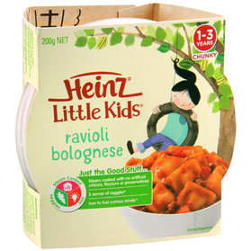 Heinz® Little Kids® Ravioli Bolognese