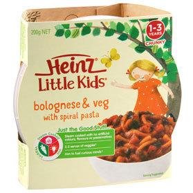 Heinz® Little Kids® Bolognese & Veg with Spiral Pasta