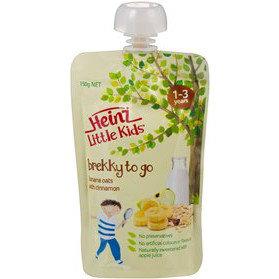 Heinz® Little Kids® Brekky To Go Banana Oats with Cinnamon