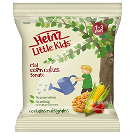 Heinz Little Kids Tomato Mini Corn Cakes