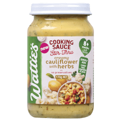 Wattie's Stir Thru Cooking Sauces Creamy Cauliflower with Herbs