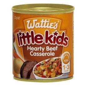 Wattie's Little Kids Hearty Beef Casserole