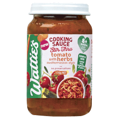 Wattie's Stir Thru Cooking Sauces Tomato with Herbs Mediterranean Style
