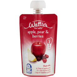 Wattie's Apple, Pear & Berries