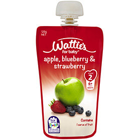 Wattie's Apple, Blueberry & Strawberry