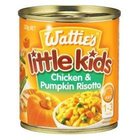 Wattie's Little Kids Chicken & Pumpkin Risotto