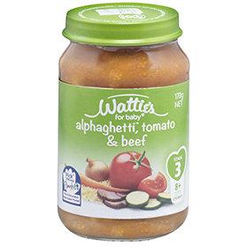Wattie's Alphaghetti®, Tomato & Beef