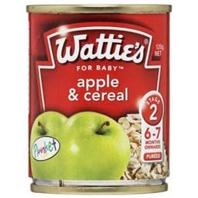 Wattie's Apple & Cereal