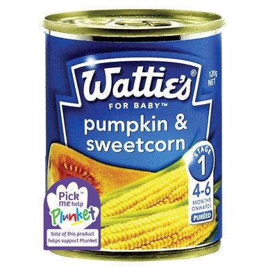 Wattie's Pumpkin & Sweetcorn