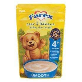 Farex Pear & Banana Baby Rice Cereal