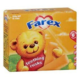 Farex Teething Rusks