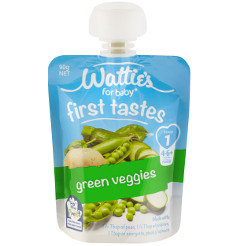 Wattie's First Tastes Green Veggies