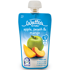 Wattie's Apple, Peach & Mango