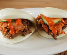 Korean Pulled Pork Bao Buns